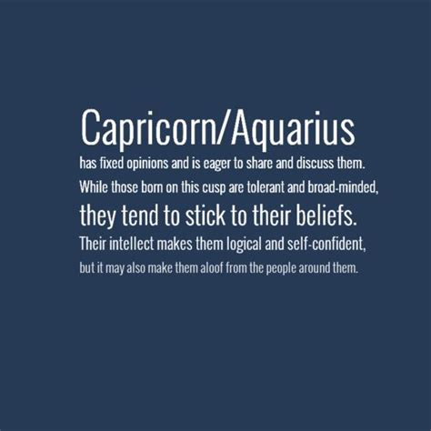 25 best ideas about capricorn aquarius cusp on pinterest
