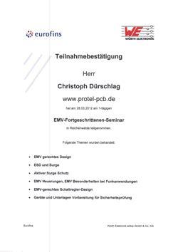 emv layout seminar weiterbildung emv kurse