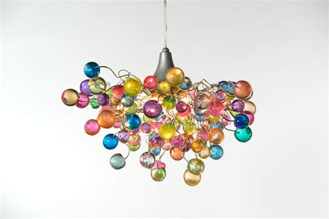 hanging chandeliers lighting hanging chandeliers with pastel bubbles for