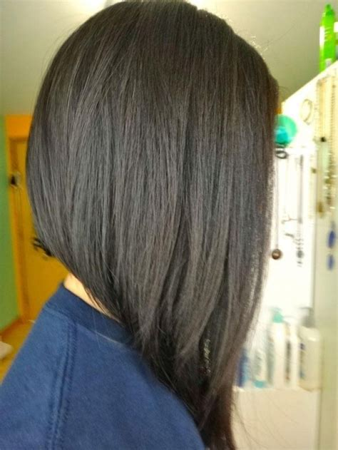 back view only of long bob 15 best collection of long inverted bob back view hairstyles