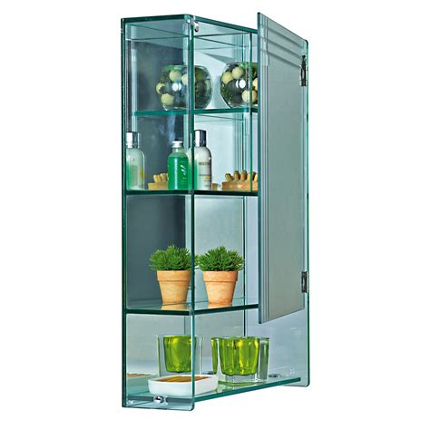 buy wall mounted quot marratimo quot glass bathroom cabinet