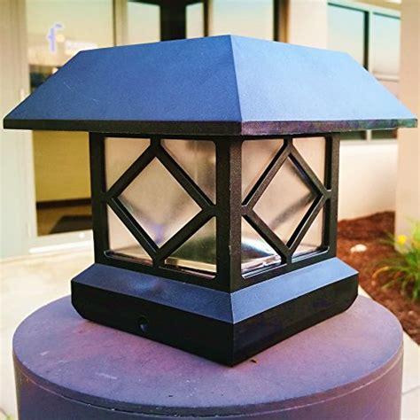 high lumen solar post lights solar light post cap lights 4 x 4 plus bright 15 lumen