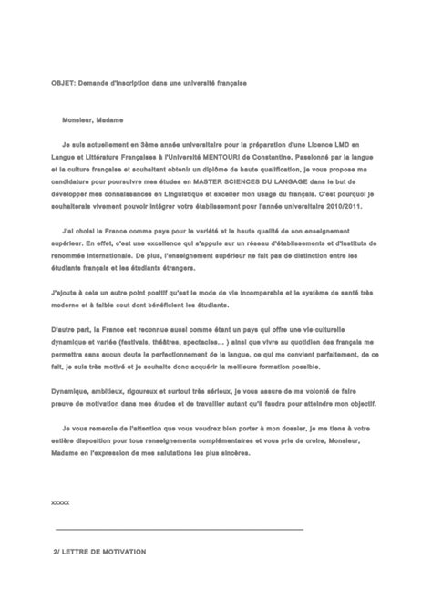 Lettre De Motivation Stage Psychologie Lettre De Motivation