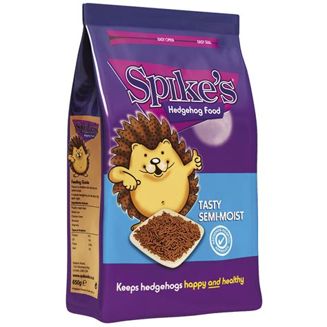 moist food spike s semi moist food for hedgehogs the hedgehog preservation society