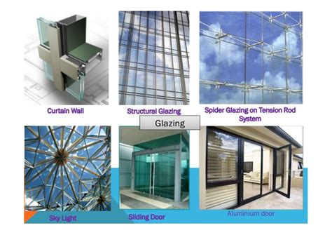 difference between structural glazing and curtain wall facade presentation