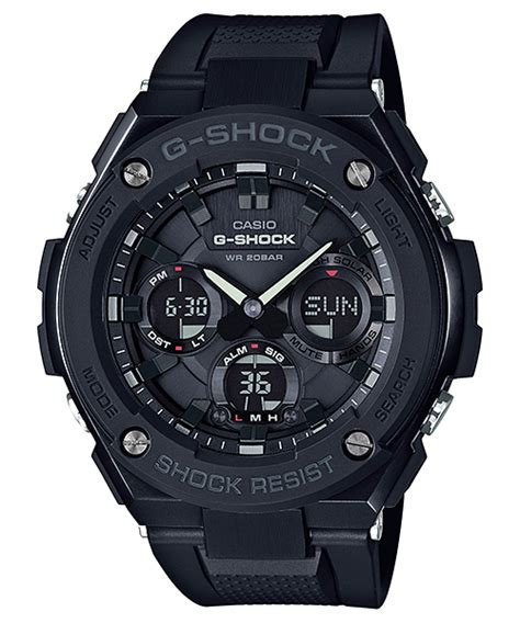Casio G Shock Gst S100g Gst S100g 1b G Steel G Shock Timepieces Casio