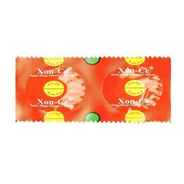 Vitacimin Vitamin C 500 Mg Hisap jual daily deals kalbe xon c tablet hisap vitamin c suplemen kesehatan 50 tablet