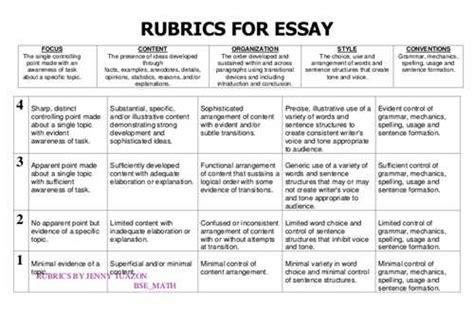 essay rubric high school Source: