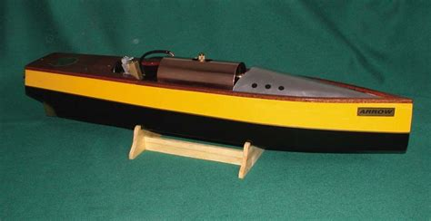 hobbies arrow steam powered launch model boat plans