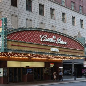 Cadillac Palace Theatre Parking by Cadillac Palace Theater Parking Book Parking Near The