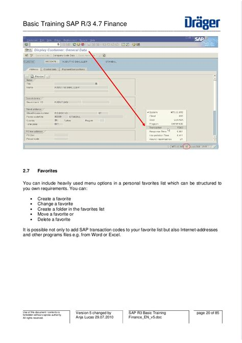 tutorial sap r3 sap r3 basic training finance en v5