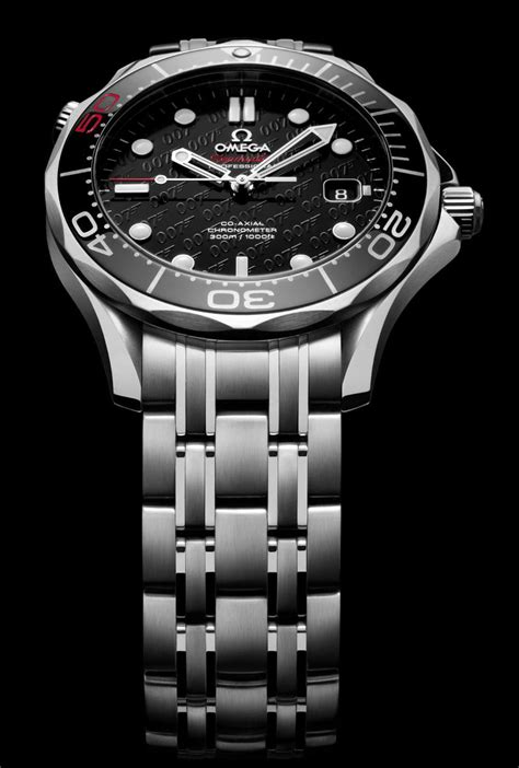 Limited Edtition OMEGA Seamaster James Bond 50th