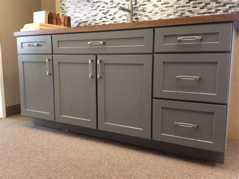 armstrong kitchen cabinets echelon trevino 5 pc in slate transitional kitchen