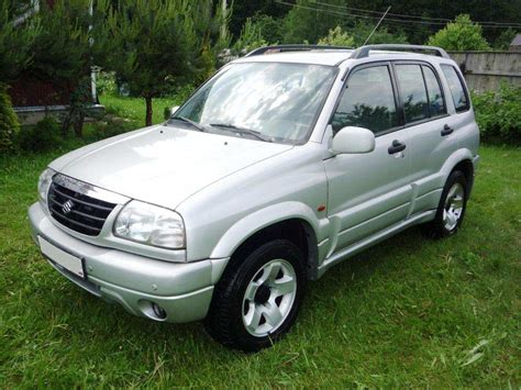 Suzuki Grand Vitara 2000 2000 Suzuki Grand Vitara Pictures 2 5l Gasoline