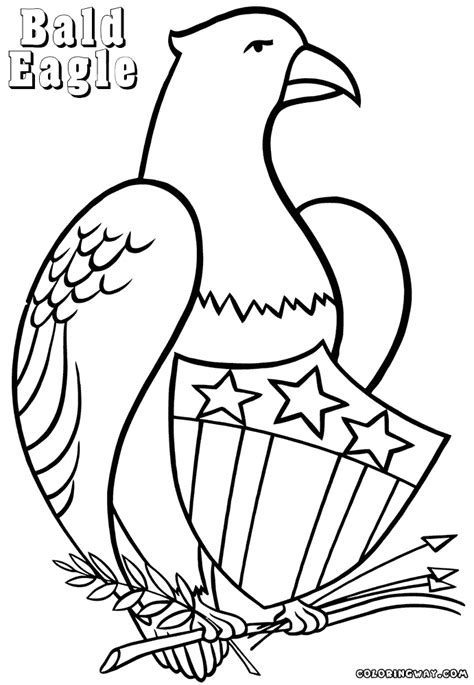 Coloring Pages Of The American Eagle | eagle coloring pages coloring pages to download and print
