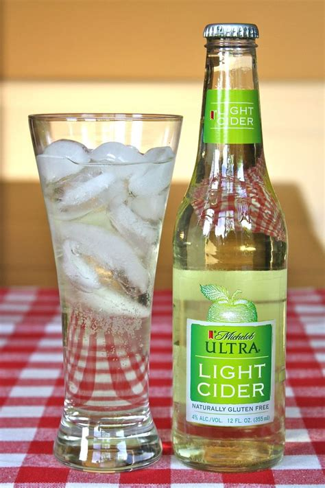 how many calories in michelob ultra light cider