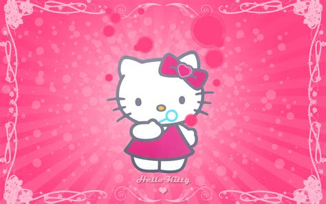 wallpaper cute hello kitty hello kitty cute pink background wallpaper wallpaperlepi