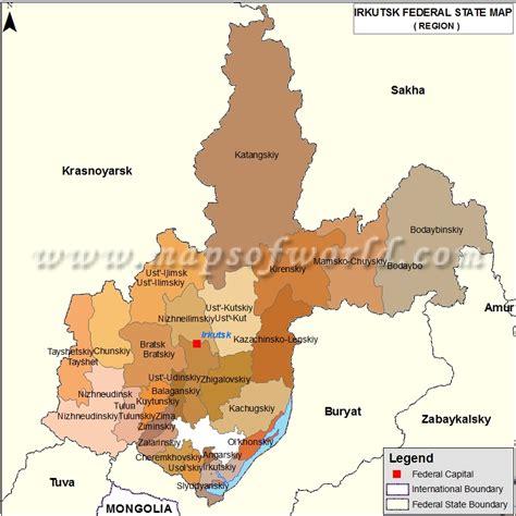 irkutsk map irkutsk map oblast of irkutsk russia