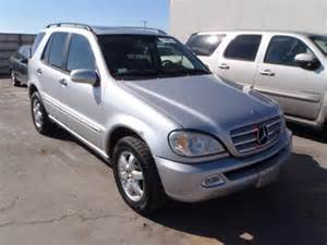Mercedes 2003 Ml350 Auto Auction Ended On Vin 4jgab57e03a409123 2003 Mercedes