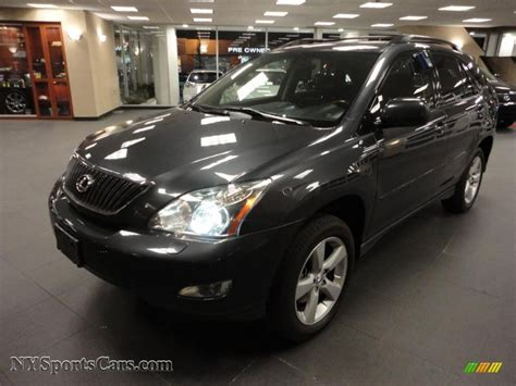 dark green lexus 2004 lexus rx 330 awd in black forest green pearl 031468