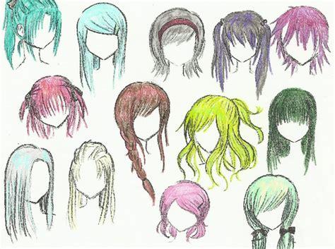 anime hairstyles long hair anime hair by mustangchild on deviantart