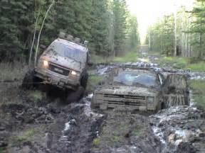 a different of moving more serious mudding than what