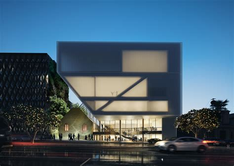 Cladded gallery of hassell unveil design for geelong performing