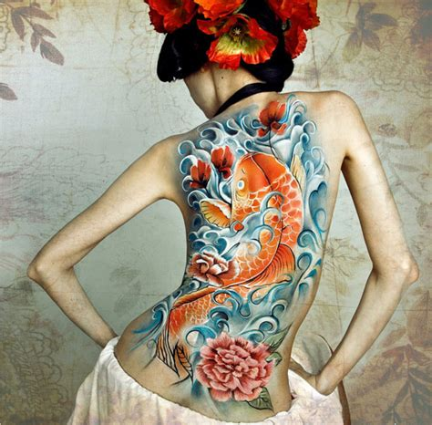 geisha tattoo full color get meaningful with full back tattoos only tattoos