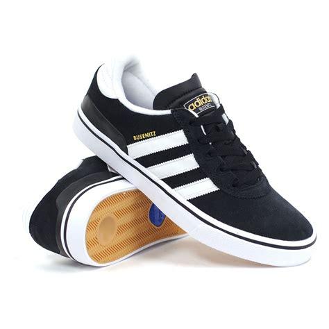 adidas busenitz vulc black white black s skate shoes ebay