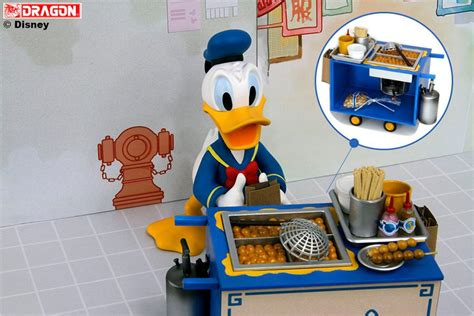 Play Buddies Pizza Disney Donald 6 inch donald duck fish cart umlgroup