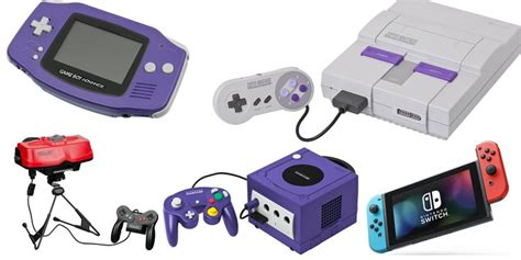 Every Nintendo Console by Ranked Every Nintendo Console And Handheld