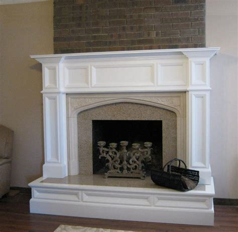 Wooden Fireplace Surround by Wood Mantels Mantelcraft