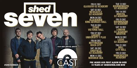 Shed 7 Tickets by Shed Seven At Manchester Academy Manchester S Finest