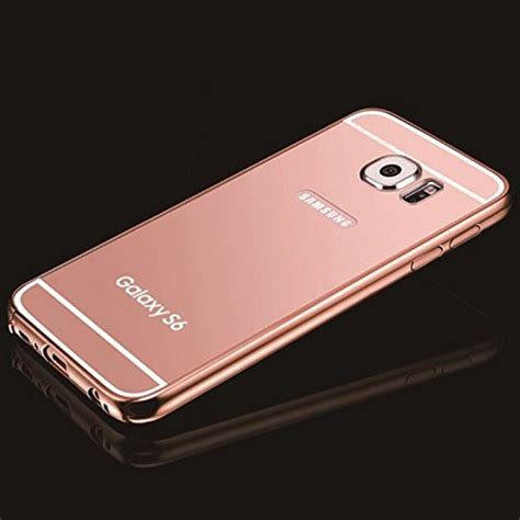Samsung Galaxy Note 2 Bumper Mirror Back Hardcase Cover gold mirror samsung galaxy s6 umiko tm clear