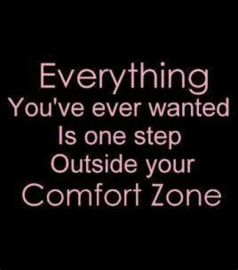 quotes about comfort zone quotesgram