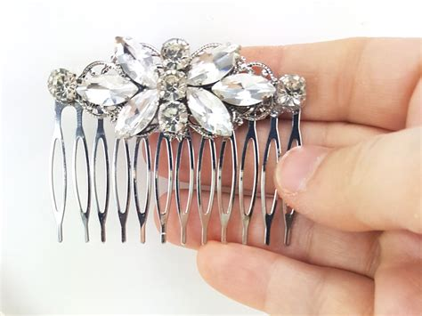 Butterfly Hair Comb butterfly rhinestone hair comb bridal butterfly style comb