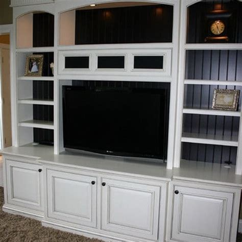 home entertainment center plans woodworking built in entertainment center plans with