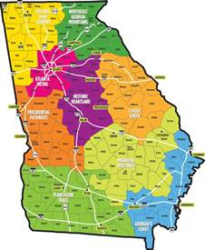 Ga State Map by What Is The Name Of Your Hometow