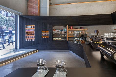 architectural design of coffee shop coffee bar kearny jones haydu archdaily