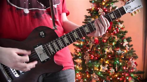 christmas   guitar cover  tabs youtube