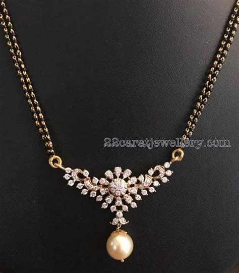 small black jewellery designs 17 best images about 2016 mangalsutra design on