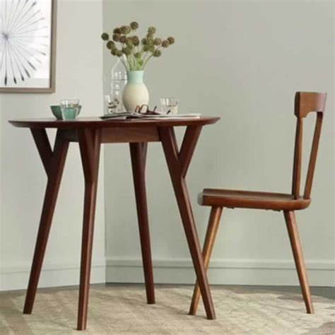 elm mid century bistro table 1000 ideas about expandable dining table on
