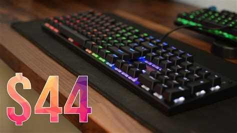 Keyboard Firerose 44 backlit mechanical keyboard 1stplayer firerose mk3 review