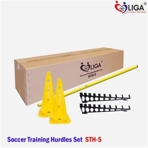 Alat Latihan Bola Cones Mangkok Fbt soccer hurdles sth 05 a toko alat olahraga