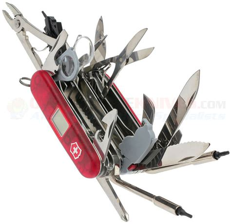 Swiss Army Knife 7 Tools 3007 victorinox swiss army swissch xavt 53509 osograndeknives multi tools