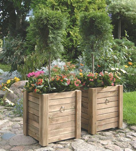 fioriere in legno per esterno fioriere in legno fai da te veloci da realizzare
