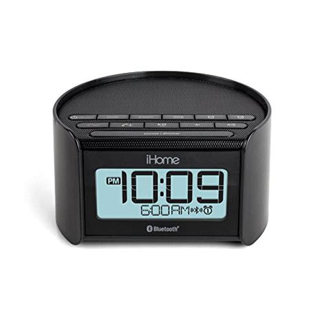 bedside l with usb charging port ihome ibt230 bluetooth bedside dual alarm clock radio with