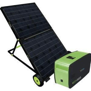 1 800 watt and play portable solar power generator