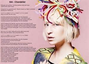 Chandelier Sia Song Meaning Sia Chandelier Lyric Image Music That Inspires
