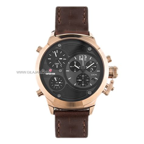 Expedition E 6396 M 1 jam tangan expedition e6396 m brrgb leather